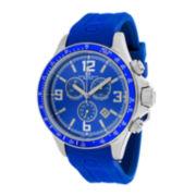 Oceanaut Baltica Mens Blue Dial Blue Rubber Strap Watch