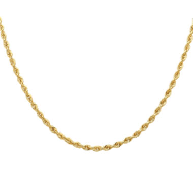 jcpenney.com | Infinite Gold™ 14K Yellow Gold Hollow Rope Chain