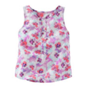 OshKosh B'gosh® Floral Printed Tank Top - Toddler Girls 2t-5t