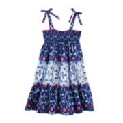 OshKosh B'gosh® Sleeveless Printed Dress - Toddler Girls 2t-5t