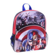 "Marvel® Captain America vs. Ironman Boys' 12"" Backpack"