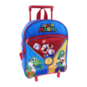 "Nintendo® Super Mario Boys' 12"" Rolling Backpack"