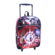 "Marvel® Captain America Civil War Boys' 16"" Rolling Backpack"