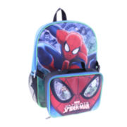 "Marvel® Spider-Man™ Boys' 16"" Backpack with Lunch Box"