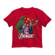 Marvel® Avengers Assemble Short-Sleeve Icon Tee - Preschool Boys 4-7