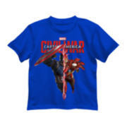 Marvel® Captain America Short-Sleeve Civil War Tee - Preschool Boys 4-7