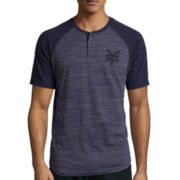 Zoo York® Grit Short-Sleeve Henley Tee