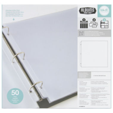 jcpenney.com | We R Memory Keepers® 3-Ring Full Page Photo Sleeves