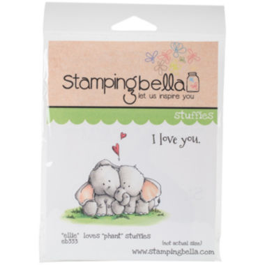 jcpenney.com | Ellie Loves Phant Stuffies Rubber Stamps
