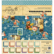 "Children's Hour 8x8"" Calendar Pad"