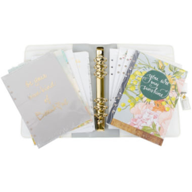 jcpenney.com | Webster's Pages Personal Planner Kit - Teal Stripe