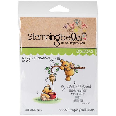 Honeybear Rubber Stamp