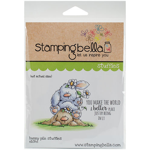 Stamping Bella 2-pc. Bunny Pile Stamp