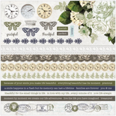 jcpenney.com | Kaisercraft Provincial Cardstock Stickers