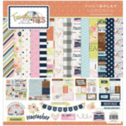 """Family Ties Collection 12x12"""" Paper and Sticker Pack"""