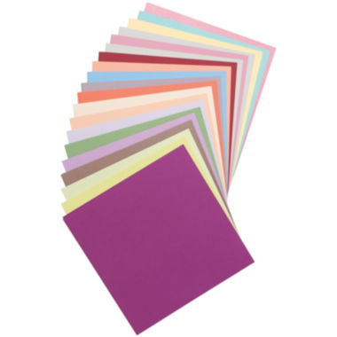 "jcpenney.com | 20 Color 12x12"" Paper Pack - 100 Sheets"