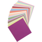 "20 Color 12x12"" Paper Pack - 100 Sheets"