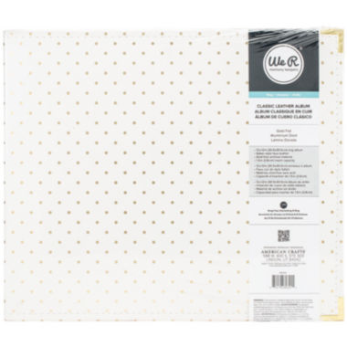 jcpenney.com | Cream and Gold-Foil Dot D-Ring Album
