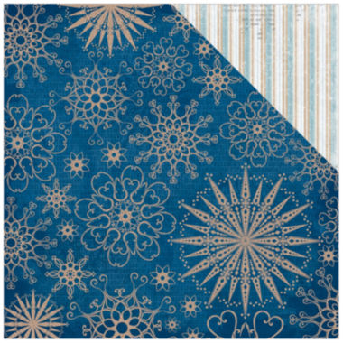 "jcpenney.com | Bundled Up Glitter 2-Sided 12x12"" Cardstock - 25 Sheets"