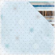 "Frozen Glitter 2-Sided 12x12"" Cardstock - 25 Sheets"