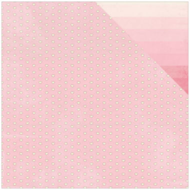"jcpenney.com | Authentique Paper Blushing Mini Heart 2-Sided 12x12"" Cardstock - 18 Sheets"