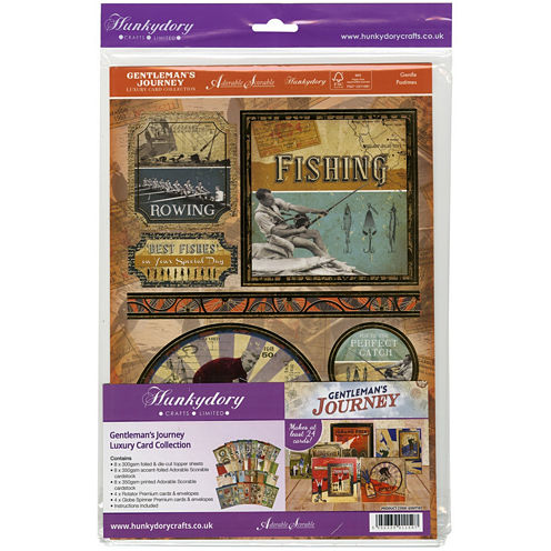 Gentleman's Journey Luxury A4 Card Collection