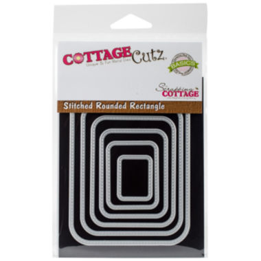 jcpenney.com | CottageCutz 6-pc. Stitched Round Rectangle Dies