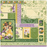 """2-Sided March Collection 12x12"""" Cardstock - 25 Sheets"""