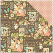 "2-Sided May Month 12x12"" Cardstock - 25 Sheets"