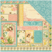 """2-Sided June Collection 12x12"""" Cardstock - 25 Sheets"""