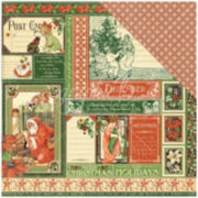 "December 2-Sided 12x12"" Cardstock - 25 Sheets"