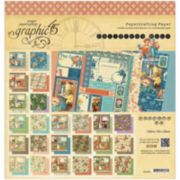 """Children's Hour 2-Sided 12x12"""" Calendar Pad - 24 Sheets"""