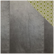 "Echo Park Paper Metal 2-Sided 12x12"" Cardstock - 25 Sheets"