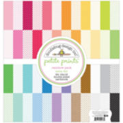 "Rainbow 2-Sided 12x12"" Cardstock - 24 Sheets"