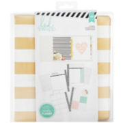 American Crafts Large Gold Foil Stripes Planner