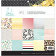 """Memory Planner 2-Sided 12x12"""" Paper Pad - 48 Sheets"""