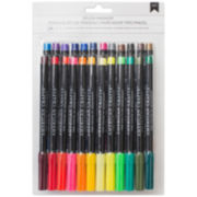 American Crafts 24-pc. Brush Markers