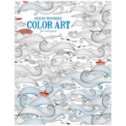 Leisure Arts Ocean Wonders Coloring Book