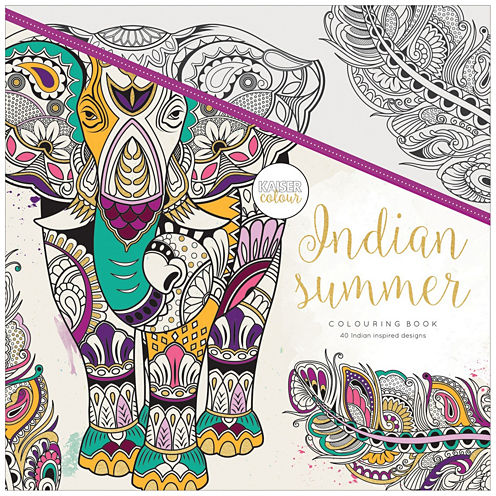 Indian Summer Coloring Book