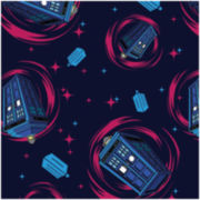 Springs Creative Doctor Who Phone Booth Fabric