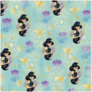 Springs Creative Disney Jasmine Princess Holding Flower Fabric