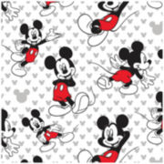 Disney Mickey Mouse Relaxed Cotton Fabric - 15 Yards