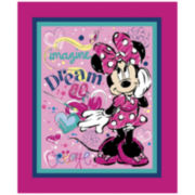 Disney Minnie Bowtique Imagine Dream Cotton Fabric - 15 Yards