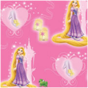 Disney Rapunzel and Slipper Cotton Fabric - 15 Yards