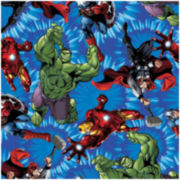 Marvel Comics Avengers United Cotton Fabric - 15 Yards