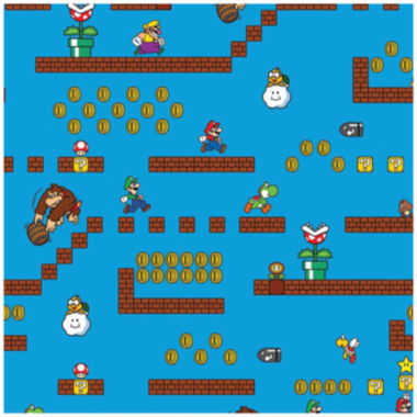 jcpenney.com | Nintendo Super Mario Game Scenes Cotton Fabric - 15 Yards