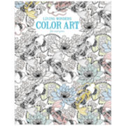 Leisure Arts Living Wonders Coloring Book
