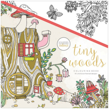 jcpenney.com | Kaisercraft Tiny Woods Coloring Book