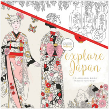 jcpenney.com | Kaisercraft Explore Japan Coloring Book