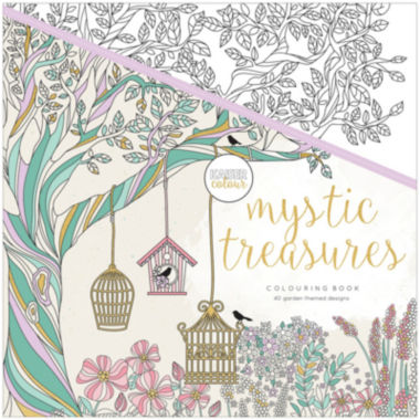 jcpenney.com | Kaisercraft Mystic Treasures Coloring Book